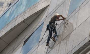 High Rise Window Washer